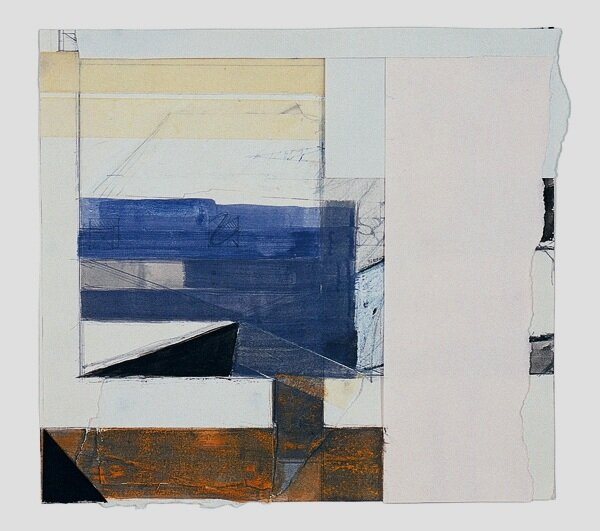 34 Piece with Violet Space 2003 Gouache, graphite, pastel, tape and paper 23x24cm.jpg