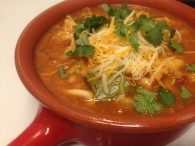 Chicken Fiesta Soup