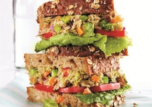 tuna-avocado-sandwich