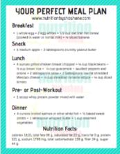 Perfect Meal Plan thumbnail