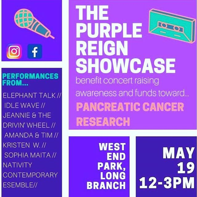 come out to support a great cause and for some awesome music!! we go on at 12:00pm!!