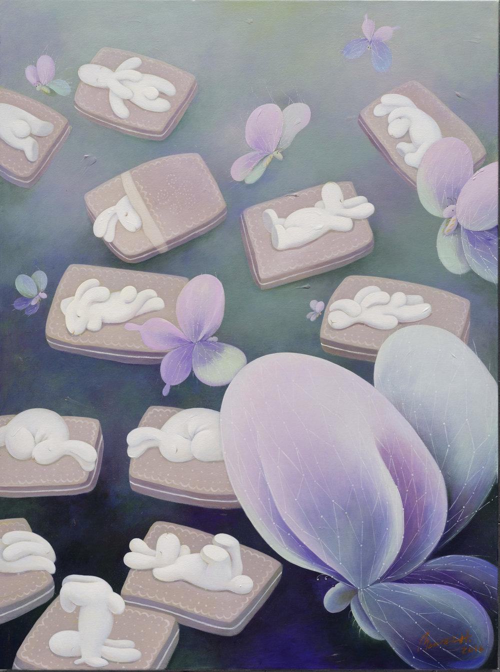 Last night butterflies brought back dreams (昨夜又夢蝶)