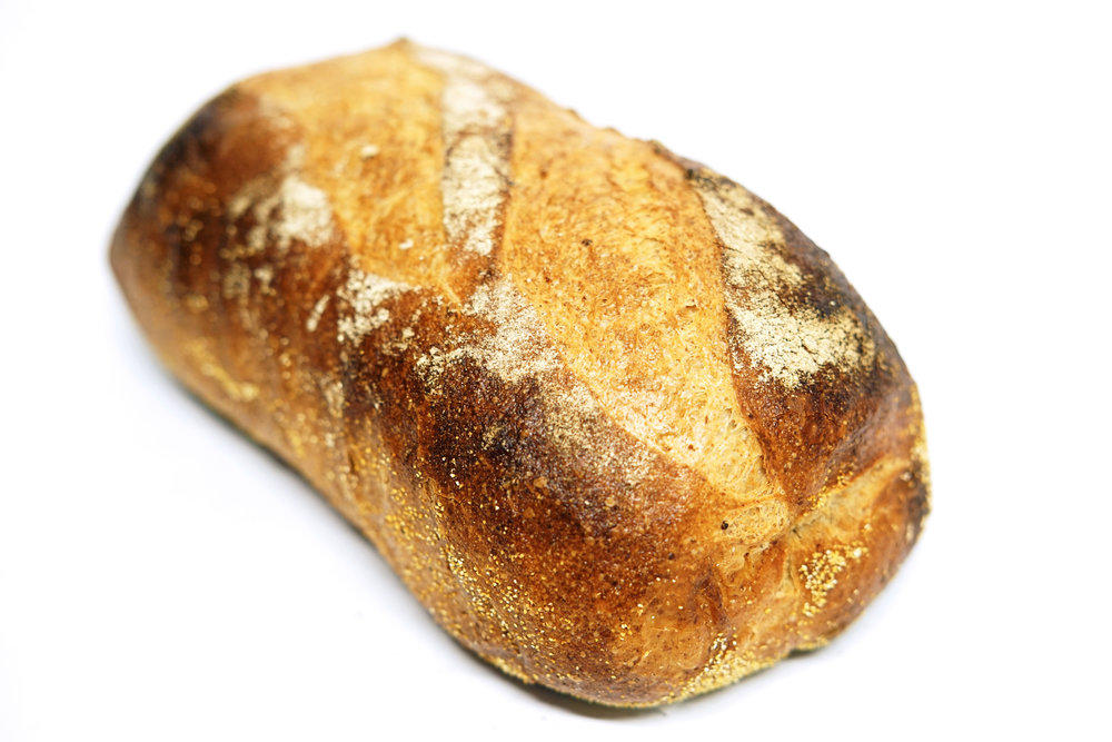 Country French - A blend of whole rye and unbleached flour. Good with soup, salad, and cheese.*Monday to Saturday