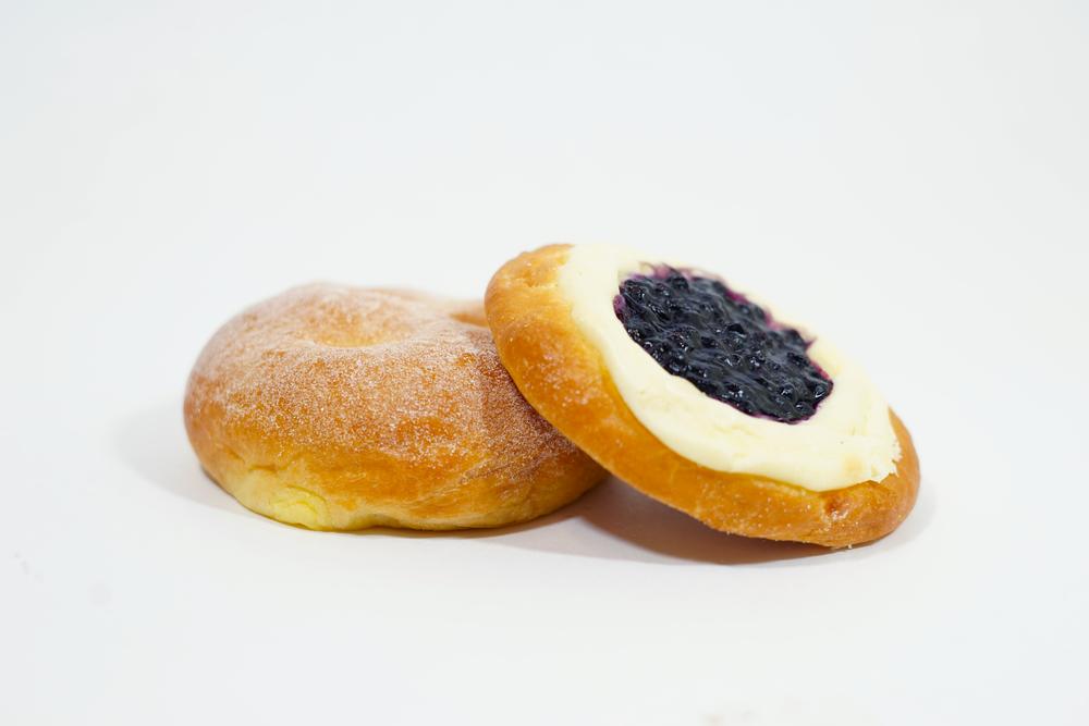Blueberry or Vanilla Custard Brioche -