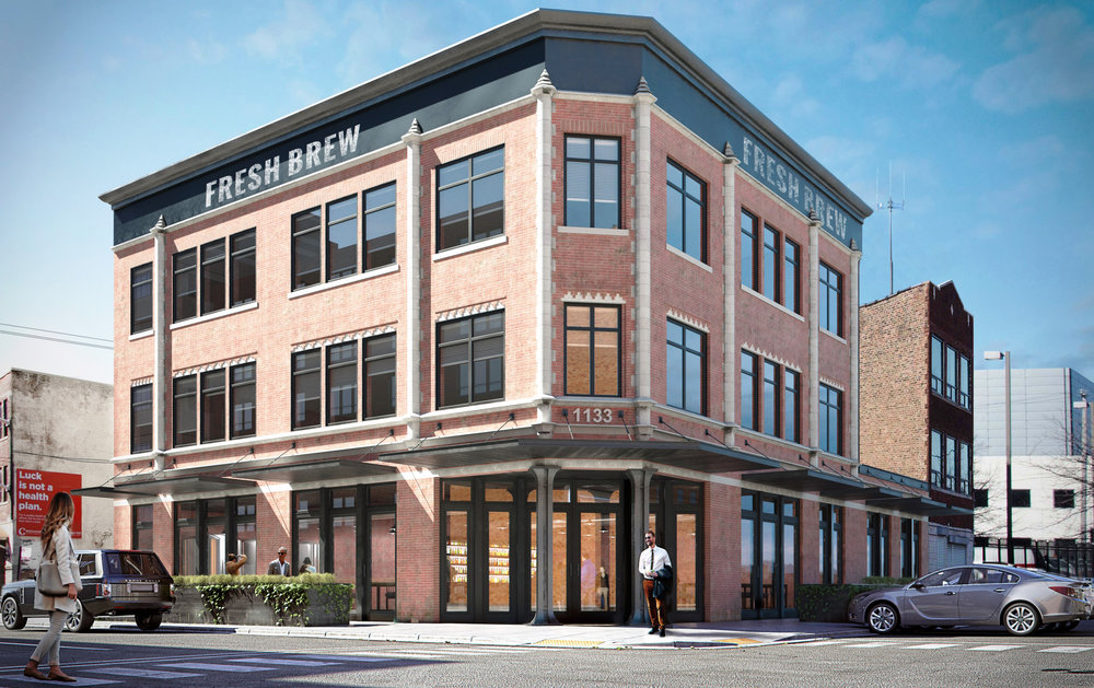 1133 W Randolph - Retail office space