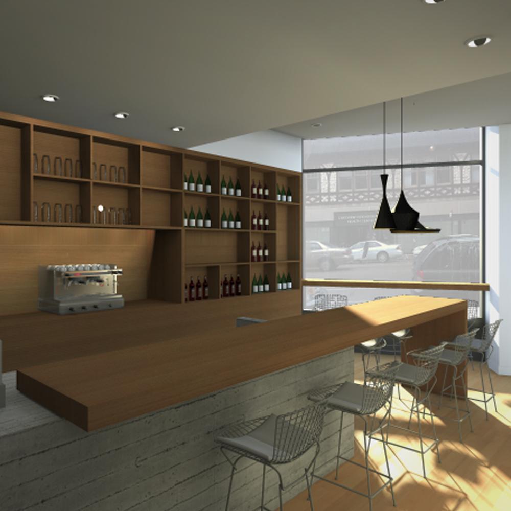 2850 N Clark - 5411 Empanadas, restaurant renovation