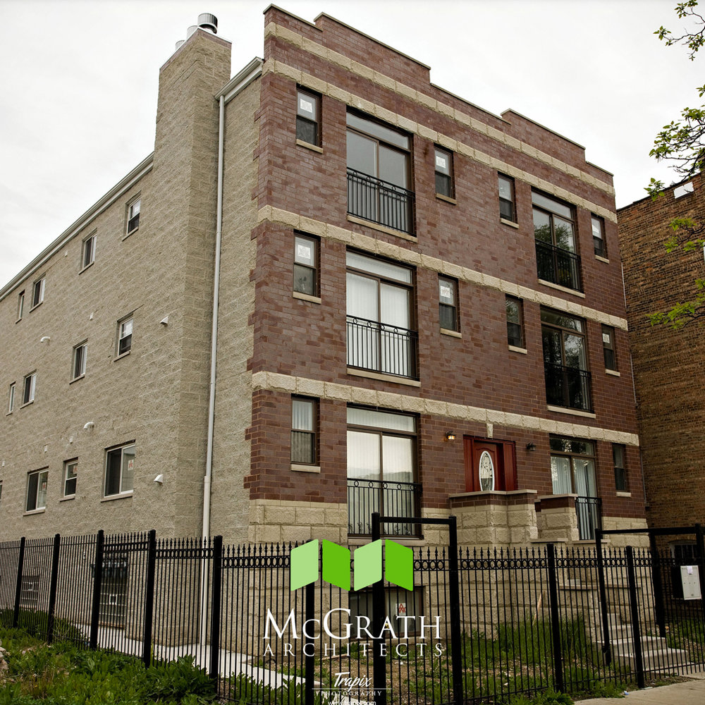 1514 N Avers - 6-unit new construction