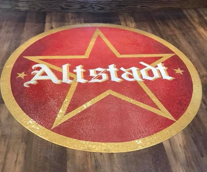 Altstadt Brewery - Custom Glass Mosaic
