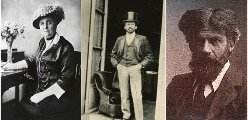 Jane Addams (1860 - 1935)       W.E.B. DuBois (1868 - 1963)       Patrick Geddes (1854 - 1932)