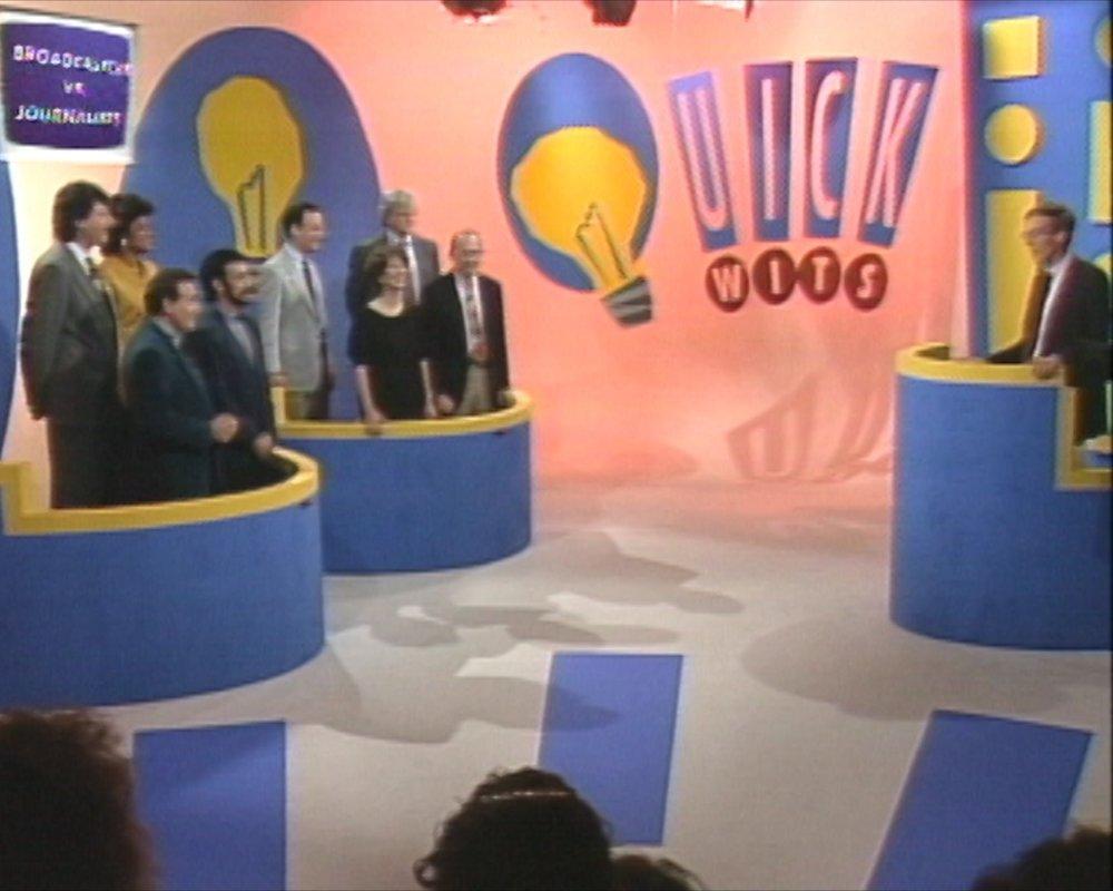 Al Lewis hosting Quick Wits