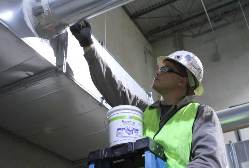 duct sealing - It's common to find gaps between duct joints, whether a home is new or old. Seal and insulate ducts that are exposed in areas such as your attic or crawlspace to improve your system's efficiency and your own comfort.