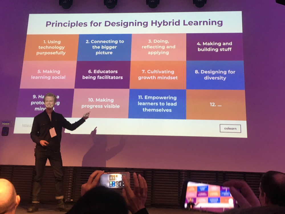 Talk: 12 Principles for Hybrid Learning Design - We led a session as part of the Education Unconference at Bergh's School of Communication, exploring principles and cases on designing Hybrid Learning.Download the principles at the top of this page.Book us to speak at your event or conference