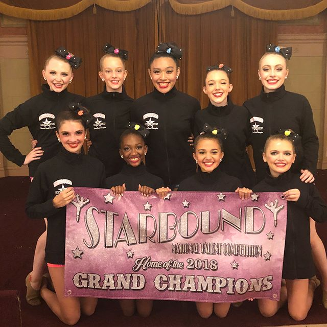 Congratulations to our Junior Grand Champions!!! #human #divasdominate2018 @starboundcomp