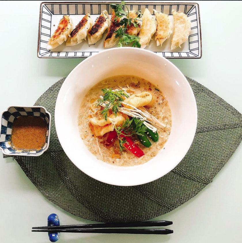 Bentoya Cooking_Vegan Ramen and Gyoza.png