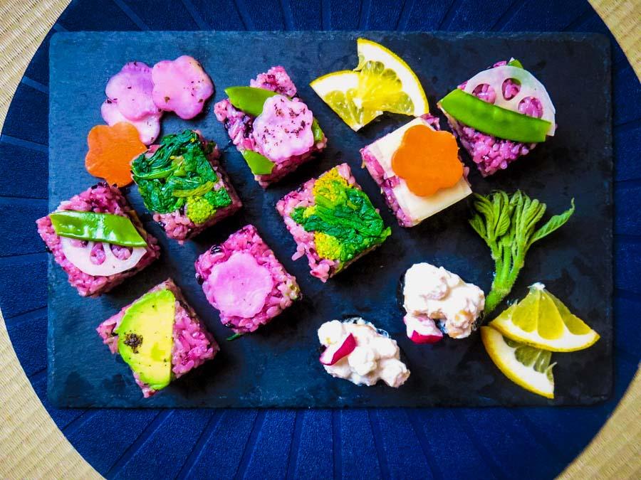 bentoyacooking events March16 Veggie Sushi Workshop in Tokyo Photo by Keiko Sensei-2.jpg