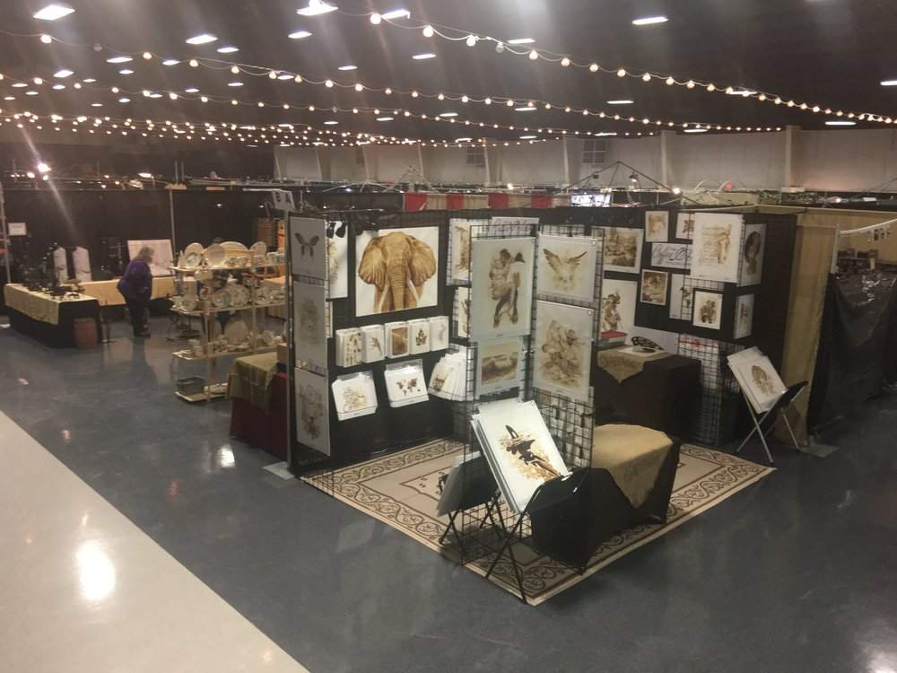 10x15 booth