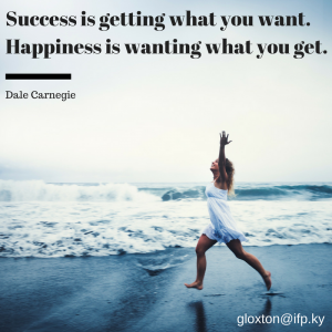 Success versus Happiness
