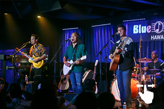 THE SONGS OF C&K AT THE BLUE NOTE - DECEMBER 8th -10thHenry Kapono and Friends Alx Kawakami, Gaylord Holomalia, Johnny Valentine and Blayne Asing celebrated the music of Cecilio and Kapono at the Blue Note Hawaii. With 2 shows nightly, December 8-10 2016 brought back memories to sold out audiences in Hawaii's premiere venue for imtimate music.