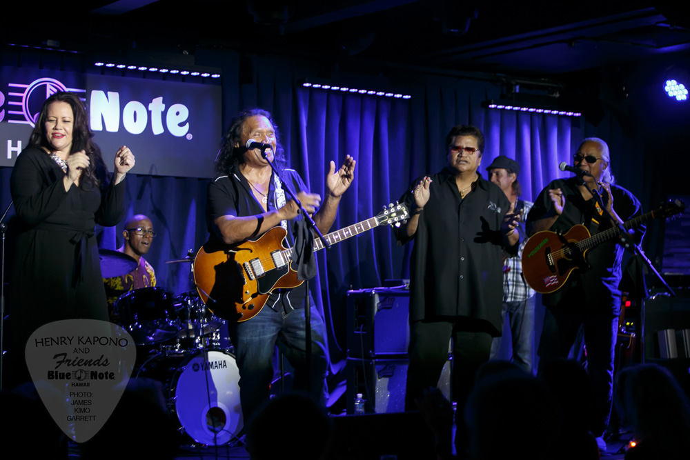 HENRY AND FRIENDS AT THE BLUE NOTE - MAY 22ndMele Mei is the celebration of Hawai'i's music, hula and culture and Henry Kapono and Friends performed a one night, two show gig in the Blue Note showroom.
