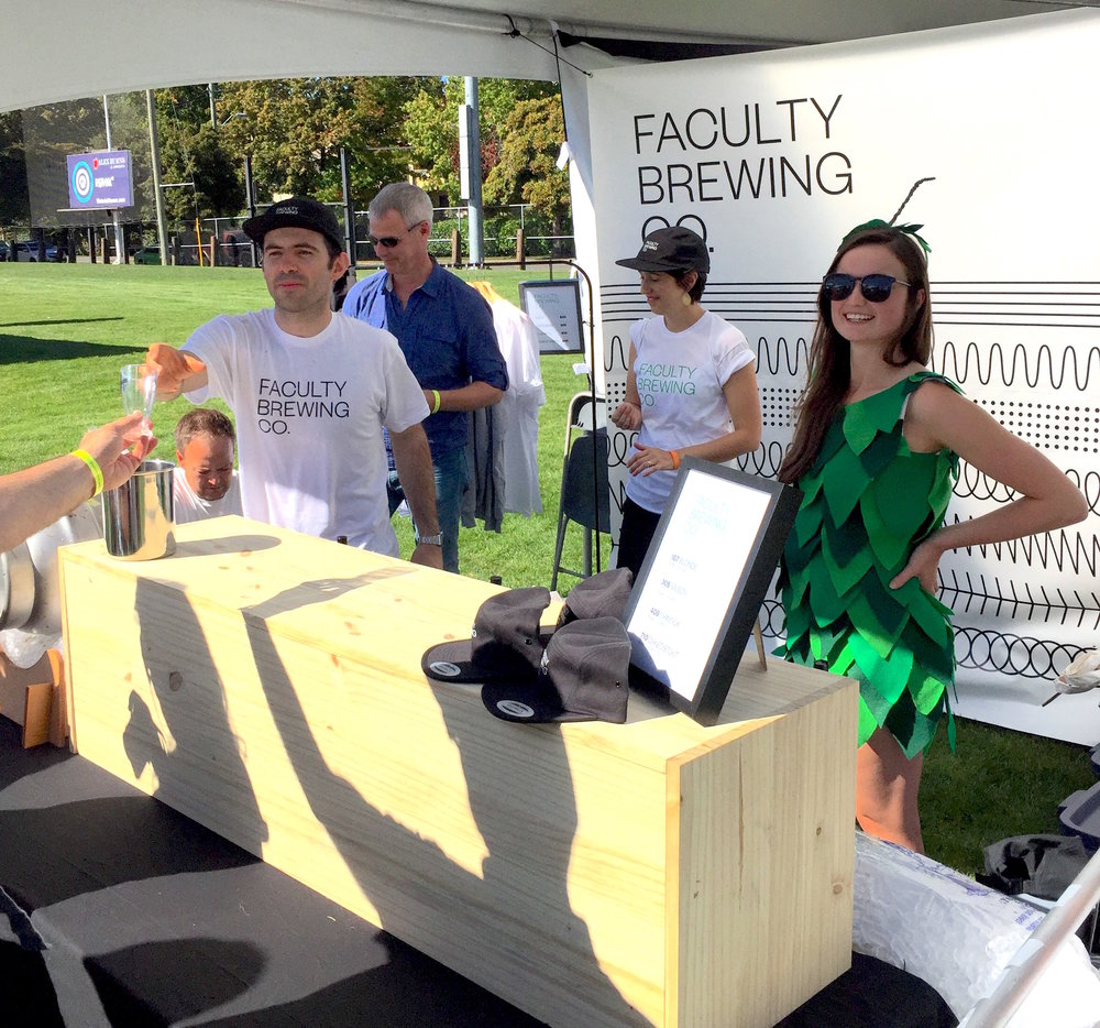 Breweries get creative to attract attention.