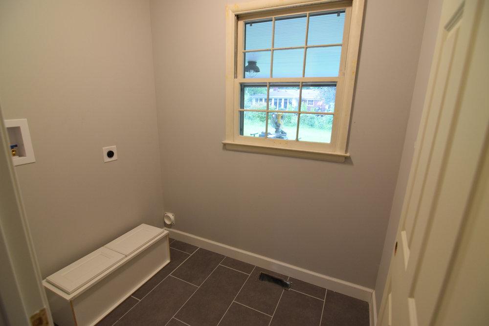 Laundry Room and Half Bathroom