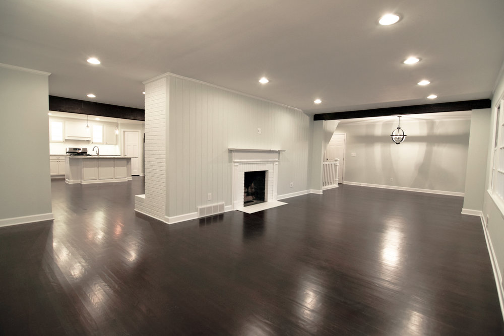 Monarch Homes | The House Next Door | Living Room - After