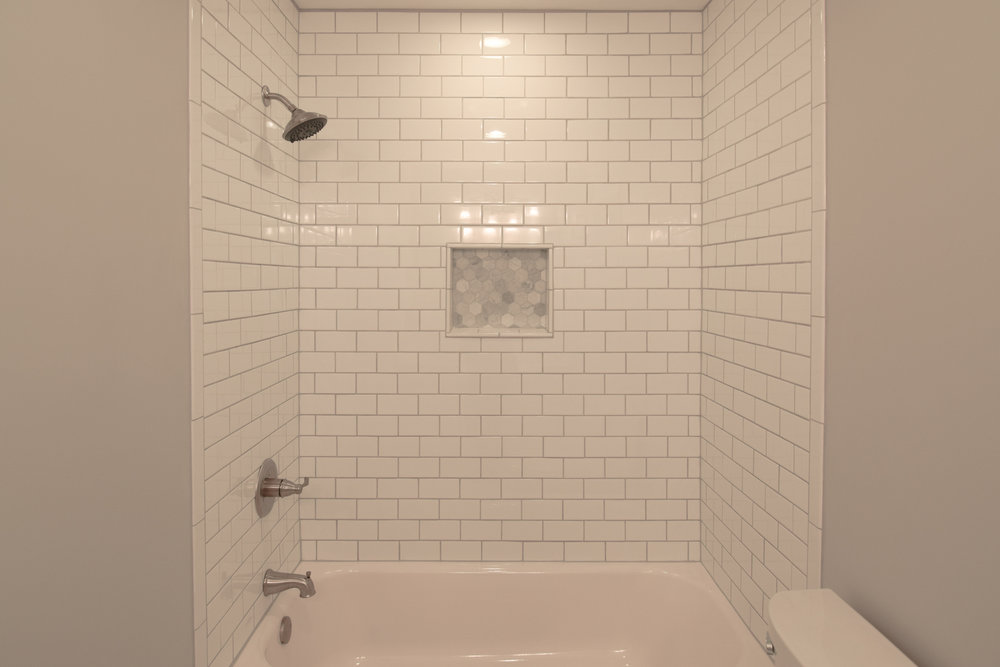 Monarch Homes | The House Next Door | Guest Bathroom - After