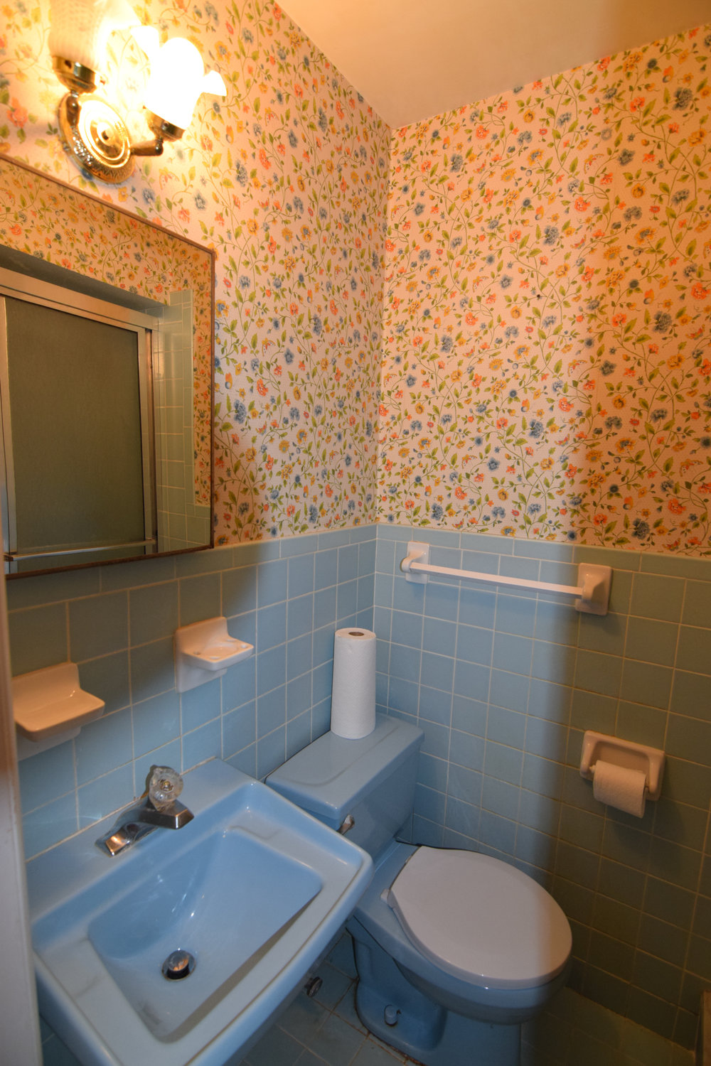 Monarch Homes | The House Next Door | Master Bathroom - Before