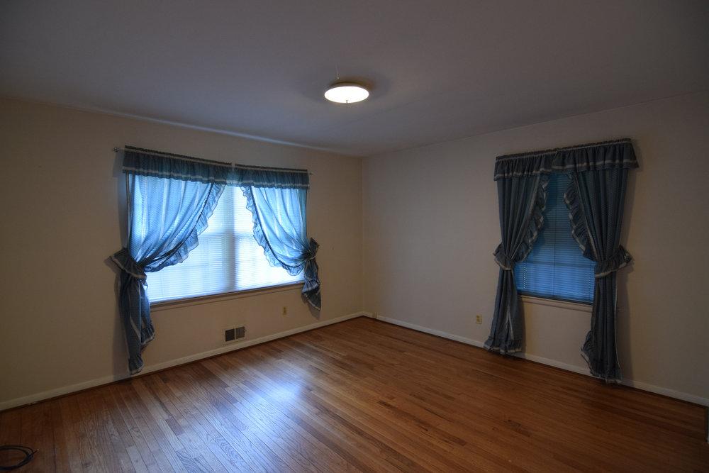 Monarch Homes | The House Next Door | Master Bedroom - Before