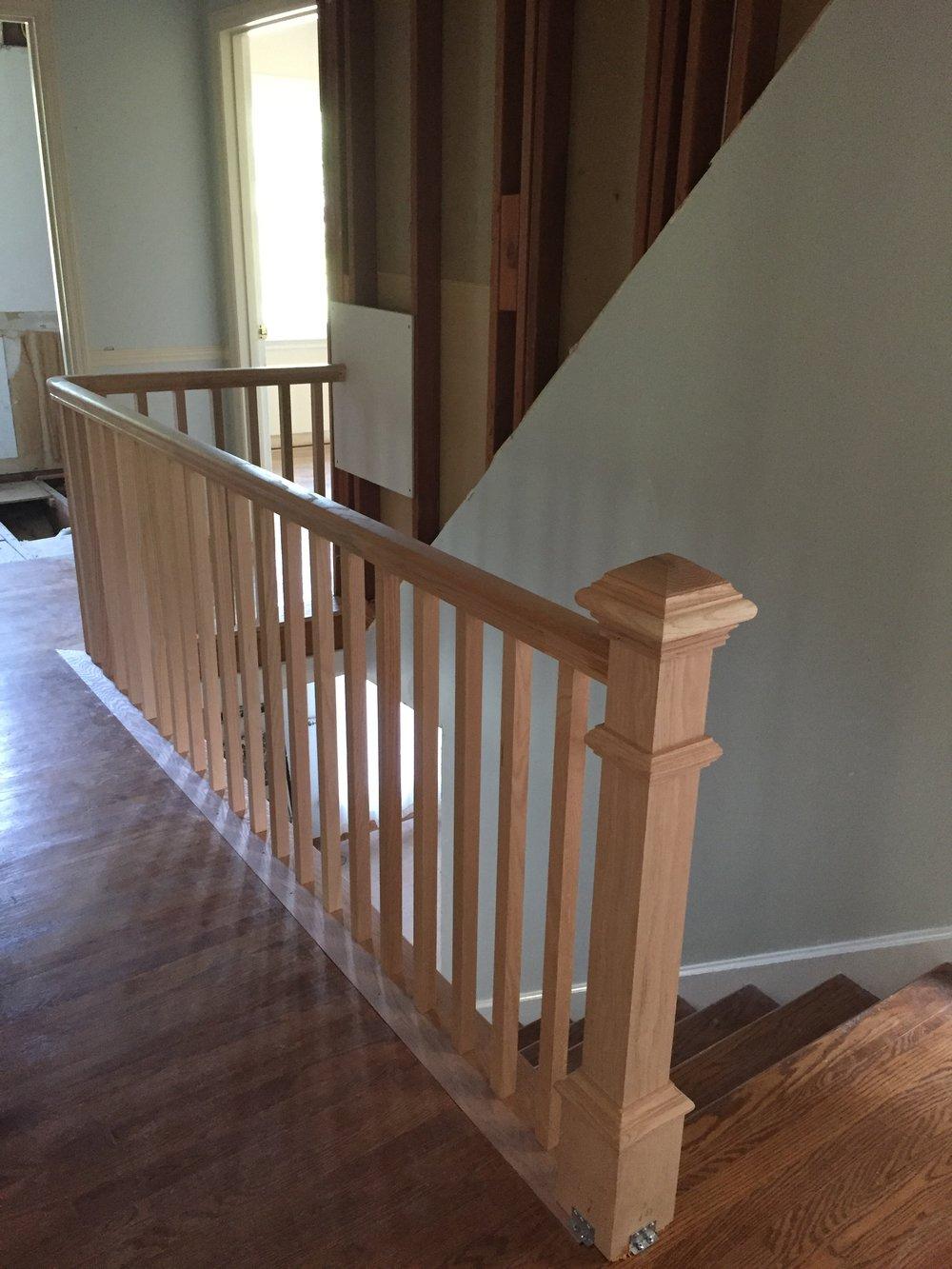 The Engagement House Hallway Progress