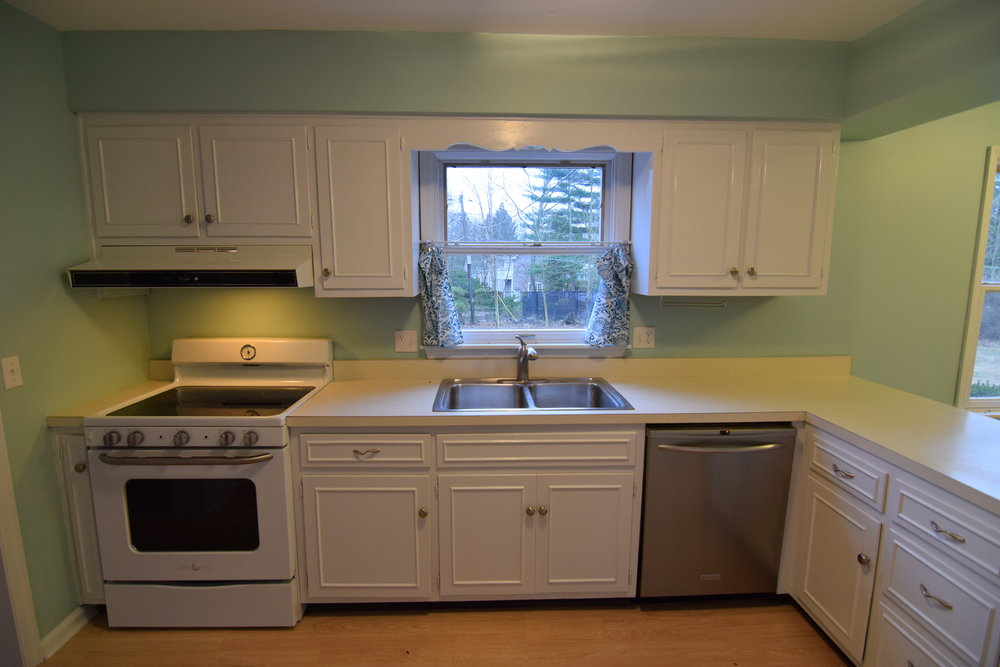 The Engagement House Kitchen Before