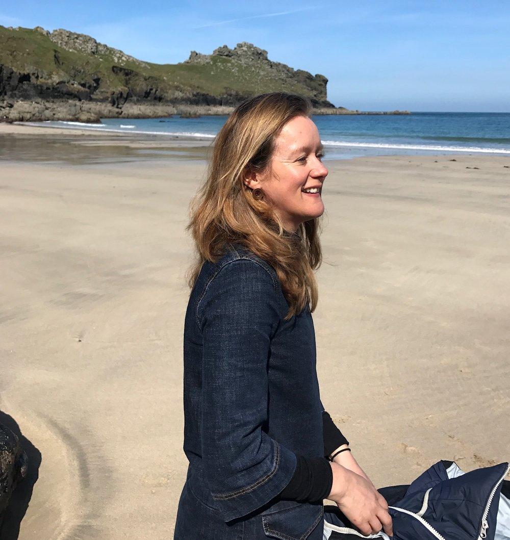 Lara Goodband at Gurnard's Head, Cornwall