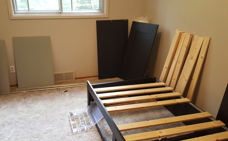 Furniture Assembly / Disassembly - Have a bed, desk, or other piece of furniture that was assembled in a room and won't come out without disassembly? We are here to help. Payne Free Moving provides the tools and labor needed to properly disassemble your furniture for transport and we will reassemble them for you at your destination.