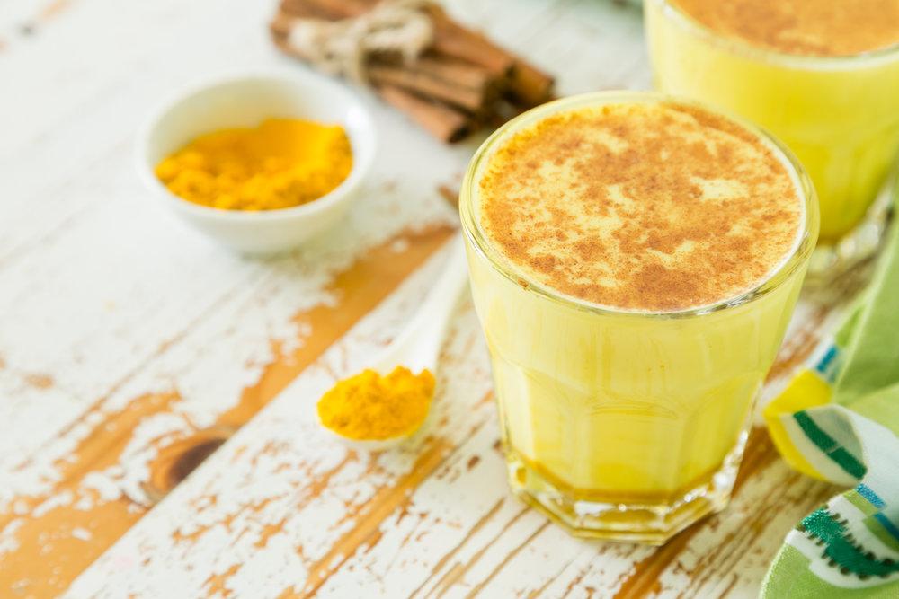 Chilled Golden Milk