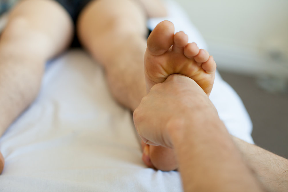 - Using classic Rolfing technique to open the plantar fascia of the foot. (Read More)