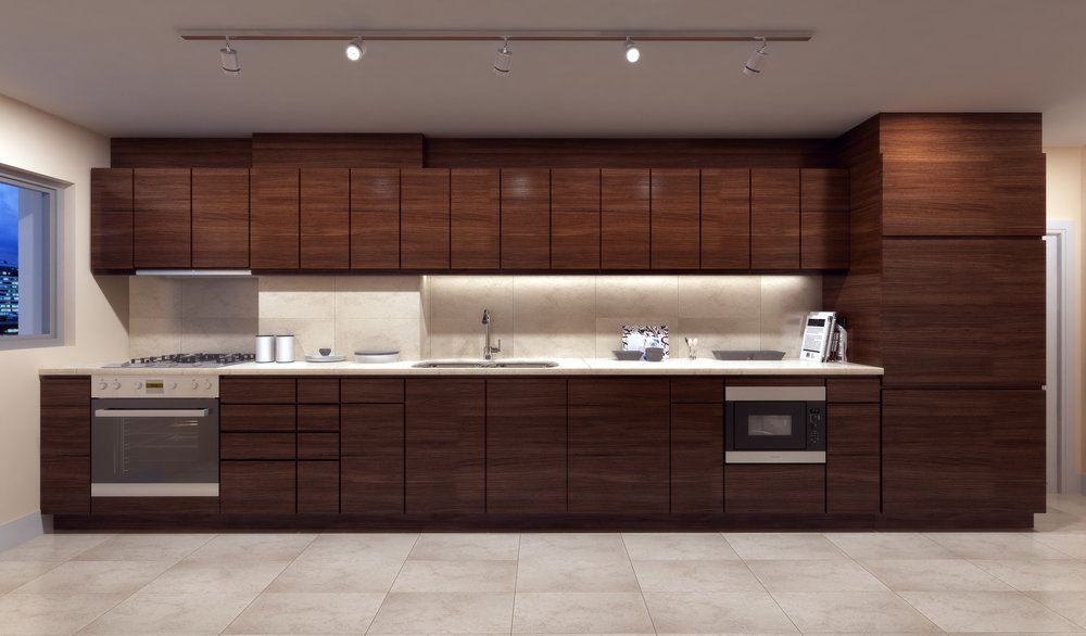 Finish package A kitchen - applied