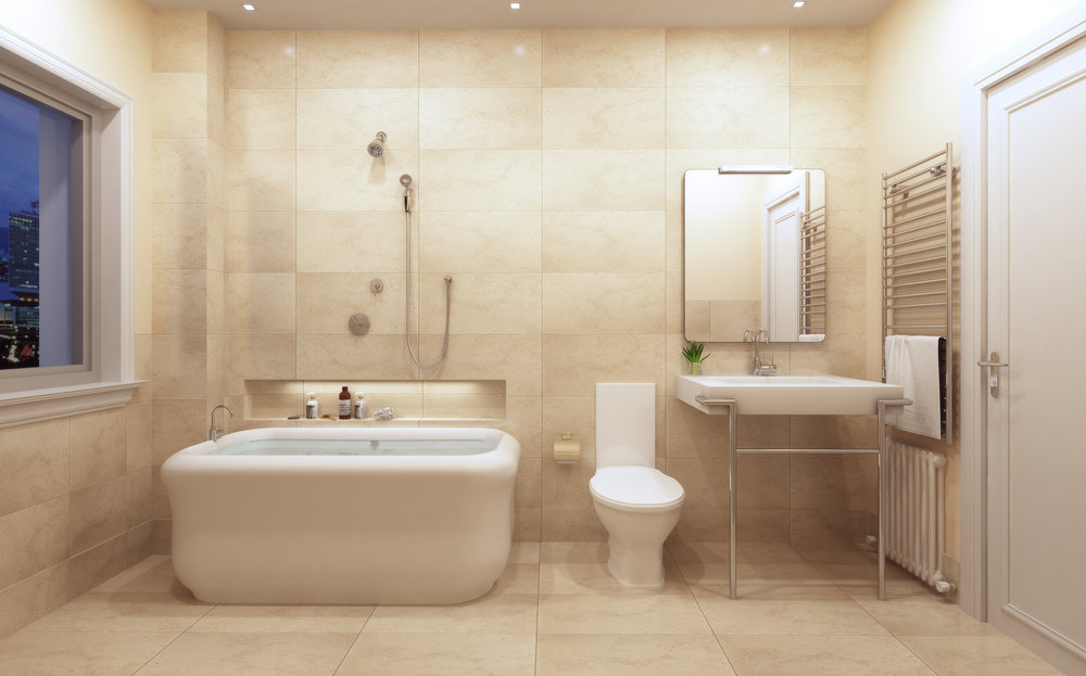 Finish package A bathroom - applied