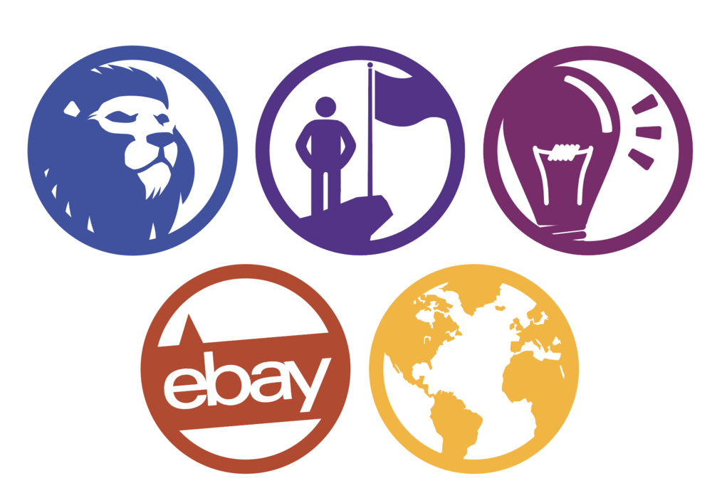Amplify the Meaning - Example: Icons for eBay's Cultural Values