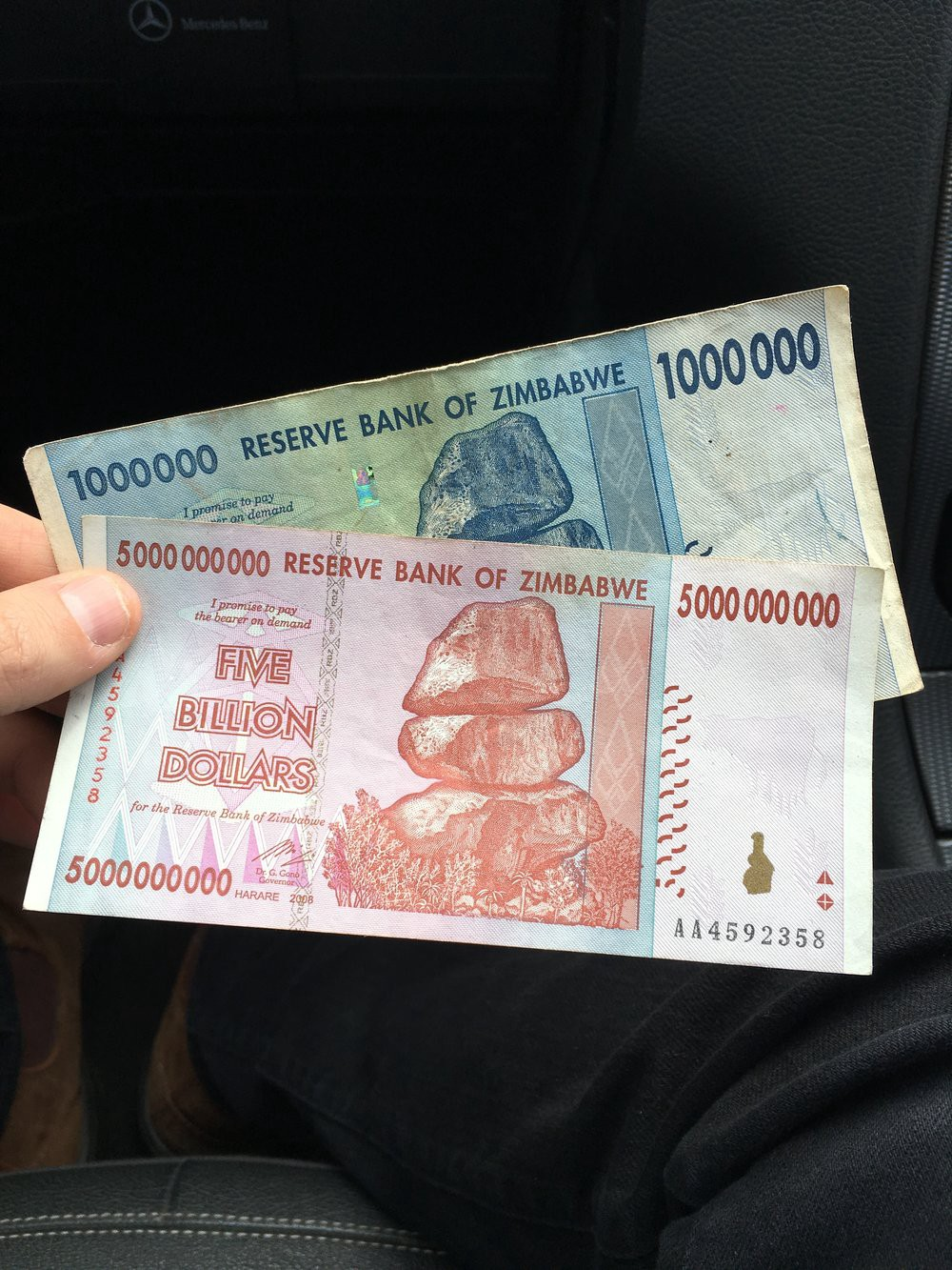 The Zimbabwean economy broke world records of hyperinflation twice in the past decade