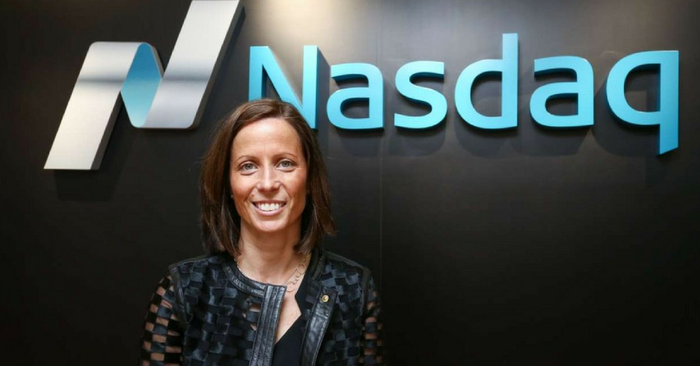 Nasdaq CEO, Adena Friedman. Would consider becoming crypto exchange if the space matures