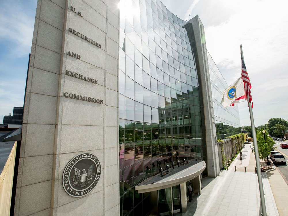 "The SEC headquarters. ""Underwhelmed"" by current efforts of blockchain innovators to self-report"
