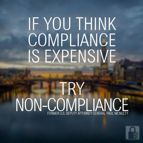 Non-compliance can lead to massive fines, as well as heavy reputational and operational costs