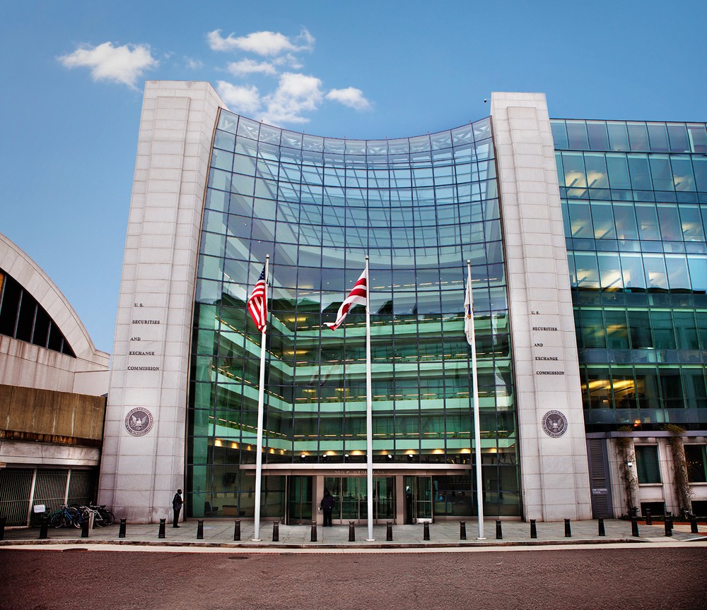 The SEC Headquesters in Washington, DC. Surveillance Can Be Instituted Regardless of Regulatory Uncertainty