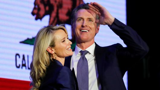 Gavin Newsom, Governor Elect of California. 1st US Politician to accept Bitcoin donations