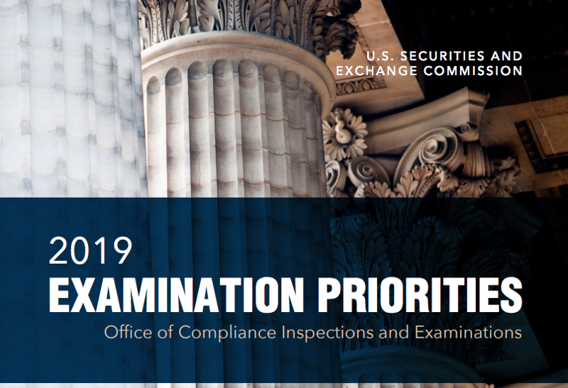 In 2019, digital assets will be a focus of the SEC's examination priorities