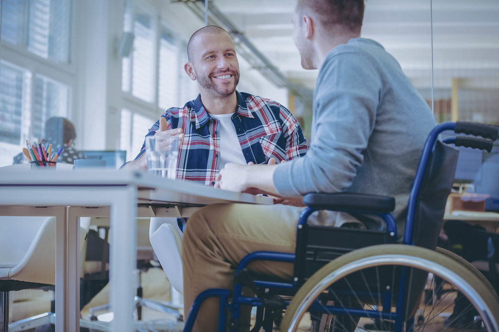 Disability support    Looking for disability support and advice? Click here to find out more…