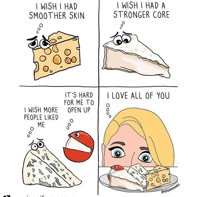 Be cheesy... Love yourself! Thank you @jennifer.garner for this!