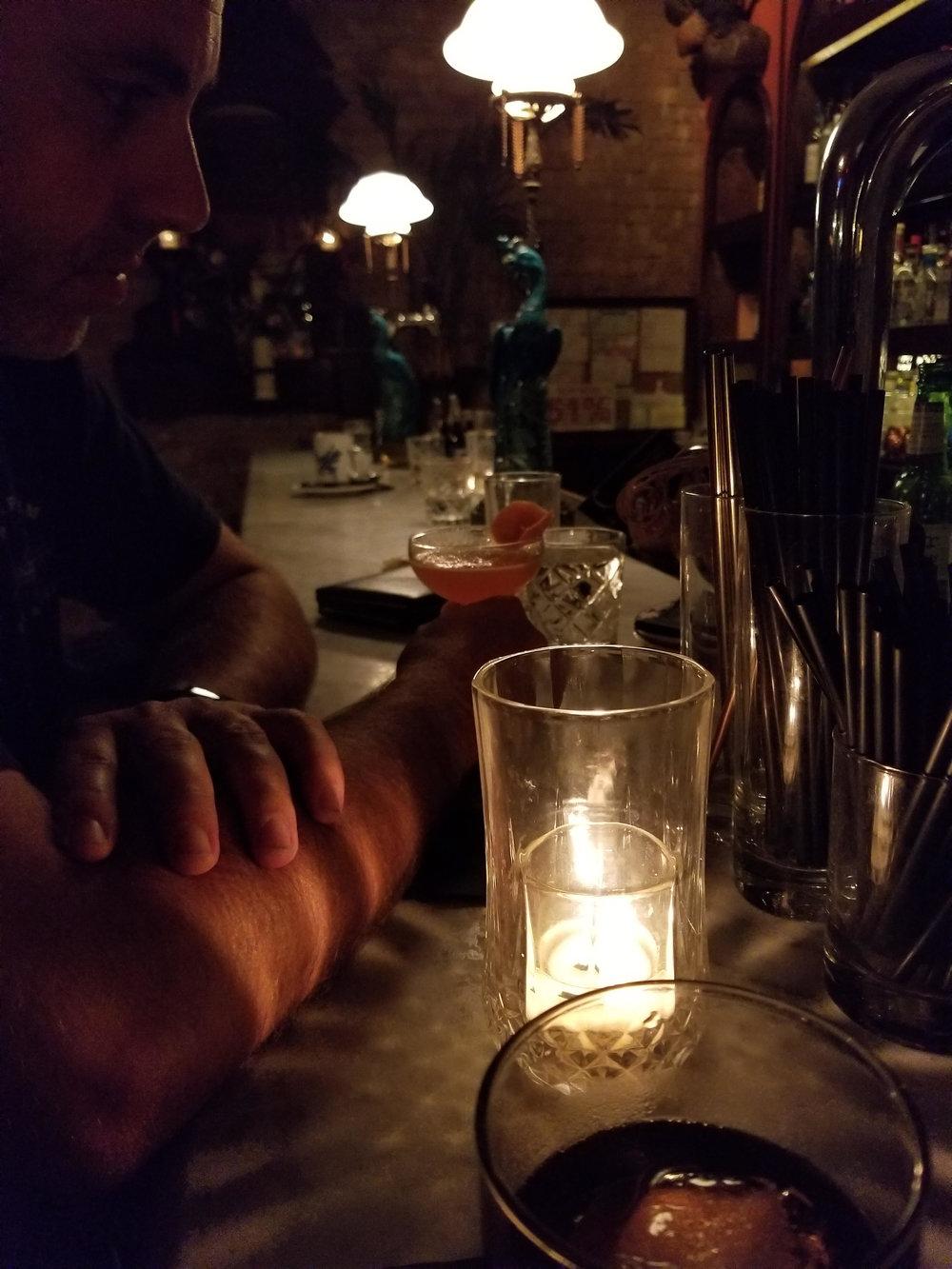 Bars on East Sixth St.