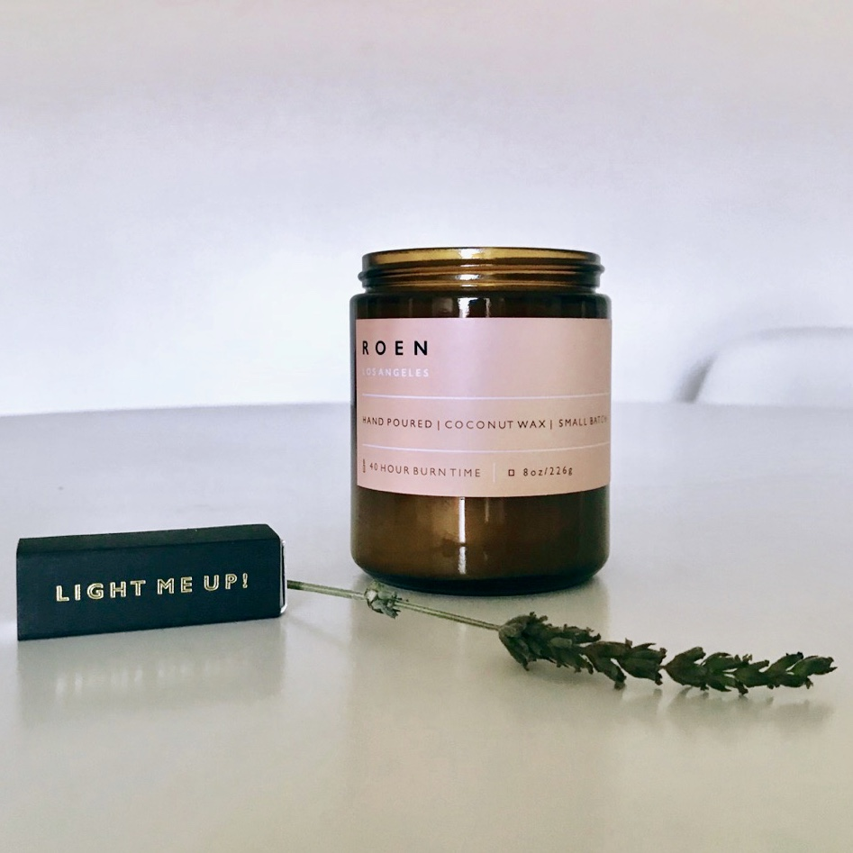 TERRE by R O E N Candles
