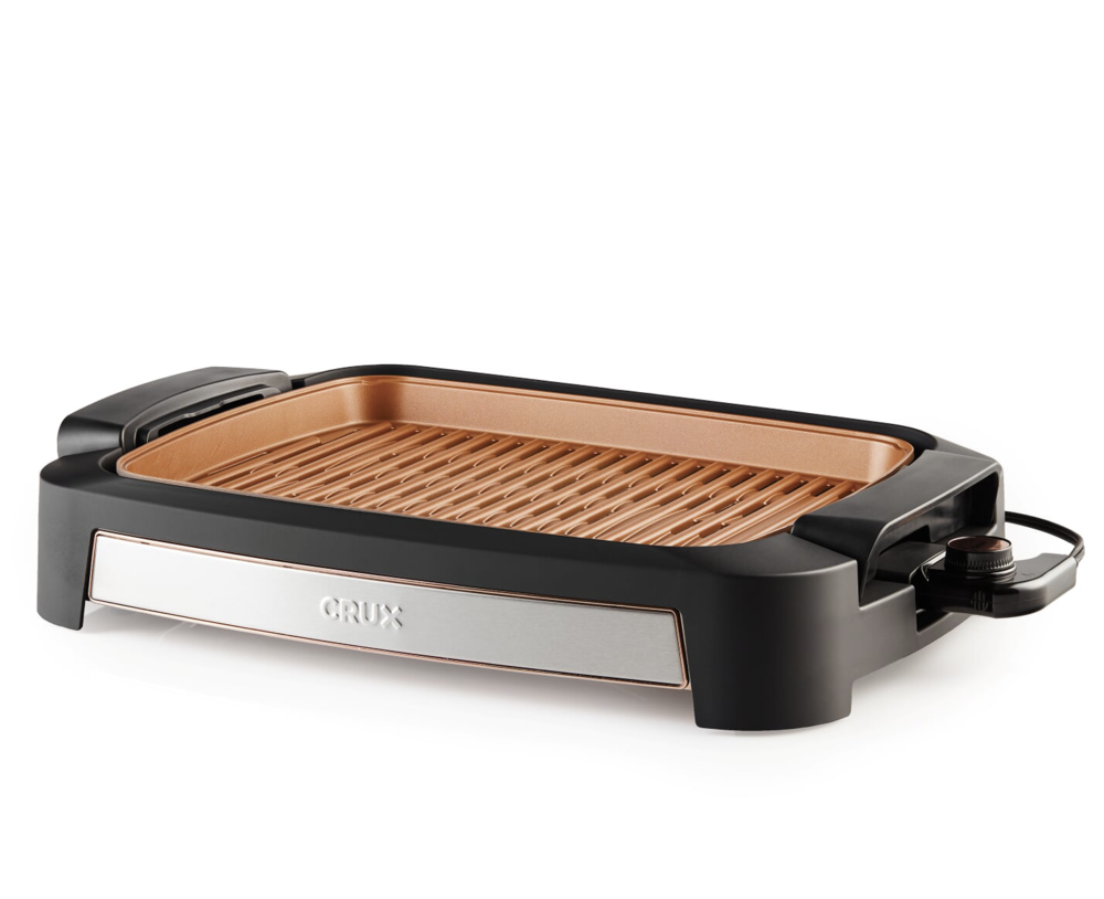 CRUX Smokeless Grill via CRUX